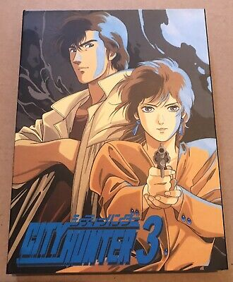 City Hunter Nicky Larson Dvd Box Part 3 Ep 82-108 Panini