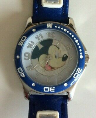 Vintage Disney Mickey Mouse Club Blue New Battery