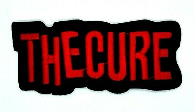 The Cure (band) logo Embroidered Patch Iron-On Sew-On 1733