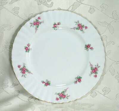 """Vintage Richmond """"Rose Time"""" Fine Bone China Side Plate. 8 1/4 inches Diameter"""
