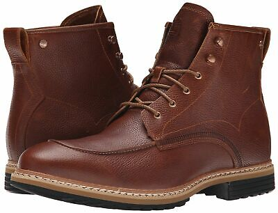 Timberland Men's West Haven 6 Inch Side Zip Boot TB0A12U8230 Tan Full Grain