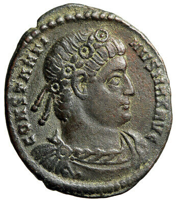 """Constantine I The Great AE19 """"Soldiers"""" Rome Mint 330 AD RIC 237 VF"""