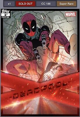 Topps Marvel Collect Deadpool Bundle. X-force Award, Showcase, Takeover W/Awards