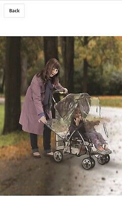 Jeep Deluxe Stroller Weather Shield, Baby Rain Cover, Universal Size, Waterproof