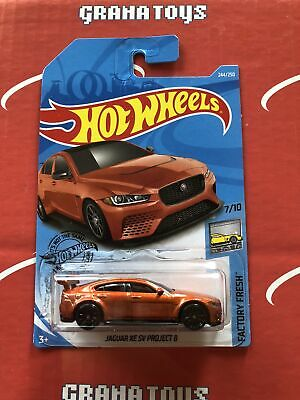 Jaguar XE SV Project 8 #244 Factory Fresh 2019 Hot Wheels Case Q