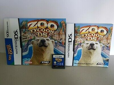 Zoo Tycoon DS for Nintendo DS/3DS no case