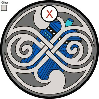 Pathtag  24956  - Dr Who  Tardis  Seal of Rassilon -geocaching/geocoin *Retired*