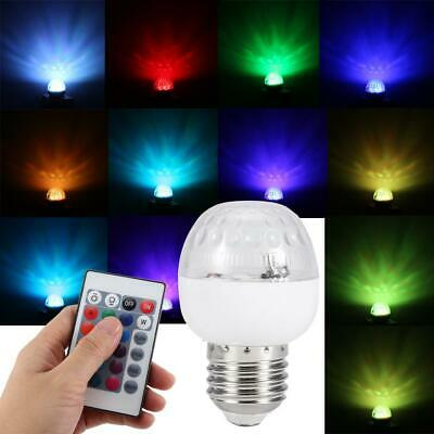 LED Regulable Globo Bombilla E27 Luz cambia de 16 colors con control remoto Kit
