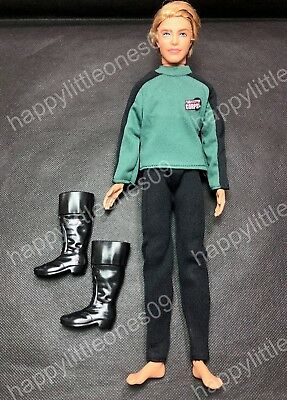 Ken Doll Casual Sports Men's Suit Outfit Clothes Uniform &Tall Boots Barbie New