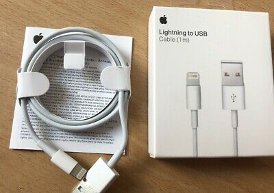 CHARGEUR APPLE CABLE USB 1 METRE Pour IPHONE 5/5C/5S/6/6S/7/8/X/XS/XR/iPod
