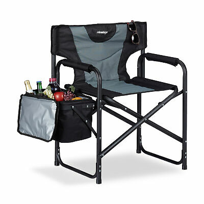 Director Chair Folding With Cooler Camping Chair Cooler Bag Fishing Seating Fold