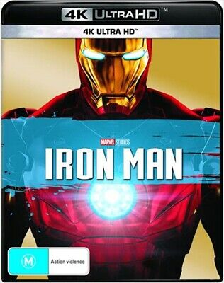 Iron Man UHD : NEW 4K ULTRA HD Blu-Ray