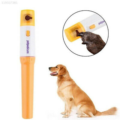 Professional Pet Dog Cat Electric Nail Grinder Trimmer Clipper File Grooming Too