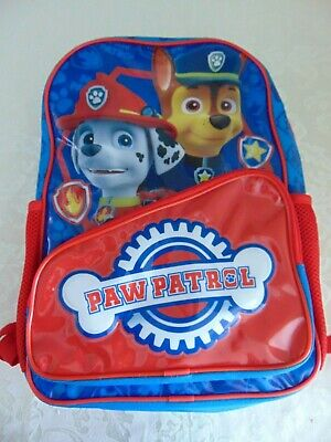 Paw Patrol Back Pack  BNWT  Make a Nice Gift Idea