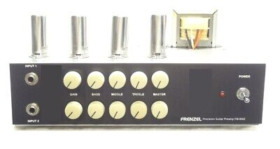 FRENZEL Dual Channel FM-800Z Guitar Tube Preamp