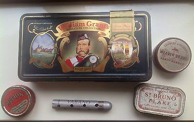 Vintage Collectable Tin Bundle - Assorted Vintage & Collectable Tins Bundle