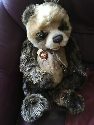 Charlie Bears Woody - Retired. New With Tags & Bag Priced £58 From Hamleys.