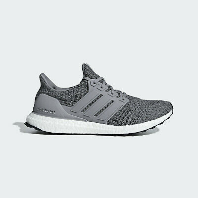 adidas Ultraboost 4.0 Running Shoes Mens Size 8 8.5 Grey Black White F36156 Gray