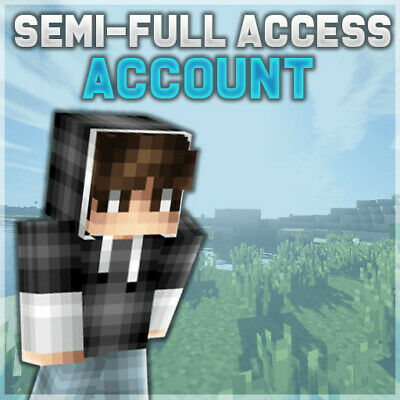 Minecraft Premium PC Semi-Full Access Account(Instant Delivery+Lifetime Warranty