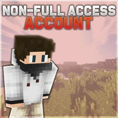 Minecraft Premium PC Non-Full Access Account(Instant Delivery+Lifetime Warranty)