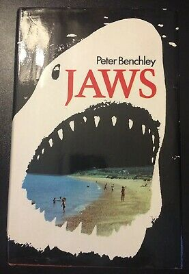 Jaws By Peter Benchley UK HB In DJ 1974 This Is Not BCA Edition