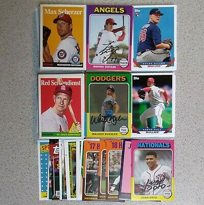 2019 Topps Archives Baseball U Pick Complete Your Set