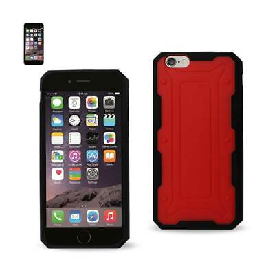 Reiko Iphone 6 Dual Color Transformer Case In Red Black