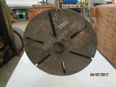 "22"" Dia. Custom Warner & Swasey Flange Type Faceplate"