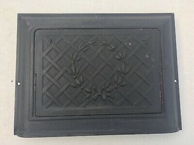 Antique Cast Iron Heat Register, ornate, operable, very good cond. circa 1910