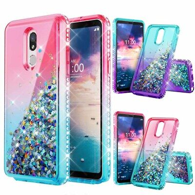 For Motorola Moto Z4 PLAY/Z4 Shockproof Bling Quicksand Glitter Phone Case Cover