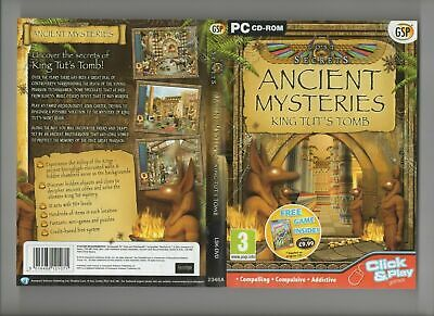 Lost Secrets: Ancient Mysteries King Tut's Tomb - PC CD ROM - TESTED