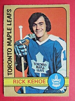 1972-73 OPC O-Pee-Chee Rick Kehoe RC # 277, Toronto Maple Leafs Excellent+
