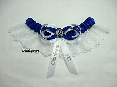 Football Team Lace Wedding garter. pensioners (any team)