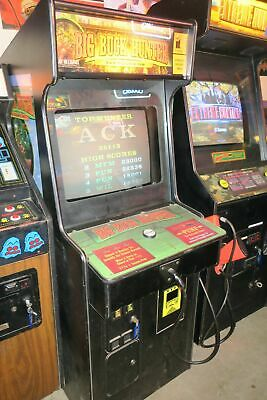 Big Buck Hunter Commercial Coin Operated Arcade Game.