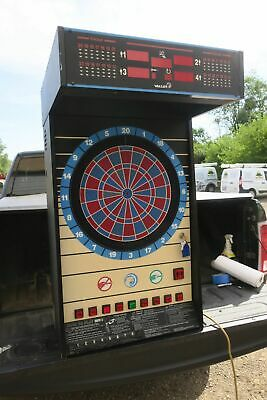 Nice Valley Cougar 9 button Commercial Coin Operated wall mount Dart Board #2