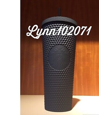 2019 Starbucks Matte Black Studded Tumbler Cup Limited Edition NEW