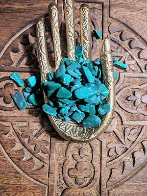 Malachite Tumbled Stones for Crystal Grids Natural Healing Gemstone