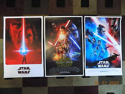 """Star Wars 3rd Trilogy (11"""" x 17"""") Movie Collector's Poster Prints ( Set of 3 )"""
