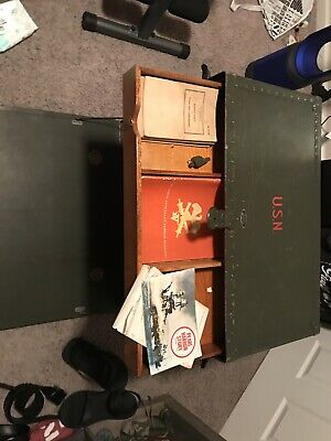 Wwii Military Field Desk Us Army Navy 1944. Extras Local Pickup
