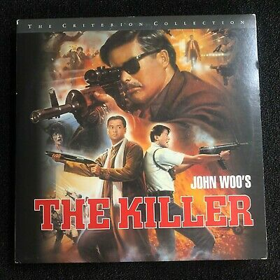THE KILLER Laserdisc LD Criterion Collection #211 [CC1363L] John Woo