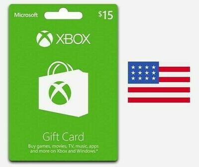 $15 USD Xbox Live Gift Card 360/One - USA