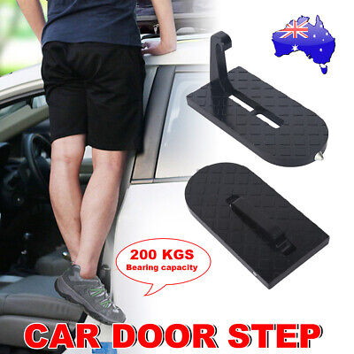 Folding Car Door Latch Hook Step Foot Pedal Ladder For Jeep SUV Truck Roof HMDAN
