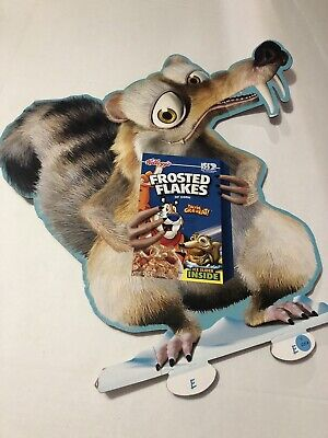 Ice Age 2 Kelloggs Frosted Flakes Cereal Store Display
