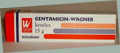 GENTAMICIN-WAGNER  for treating bacterial skin infections.  15g cream