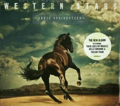 Western Stars - Bruce Springsteen CD New & Sealed pack Free and Rapid Dispatch