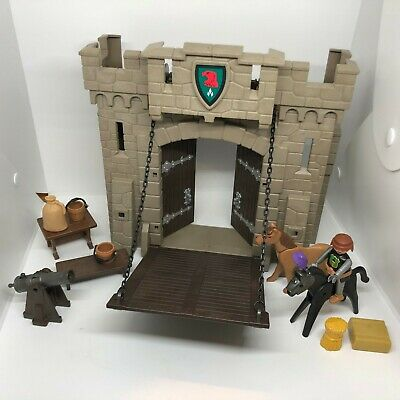Playmobil Falcon Knights Castle Front 4866 Drawbridge + Mixed accessories