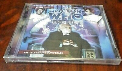 DOCTOR WHO THE SPACE MUSEUM BBC ORIGINAL SOUNDTRACK UK 2CD NEW William Hartnell