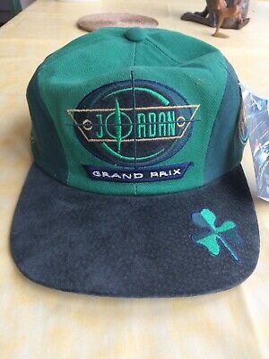 Cap Team Jordan Racing Formula One 1 F1 1987 With Tag. Official Licensed.
