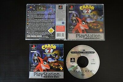 Crash Bandicoot 2 PlayStation One PS1 Game UK PAL Good Condition Manual Included
