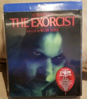 The Exorcist Best Buy Exclusive Bluray Lenticular Horror Slipcover New Sealed